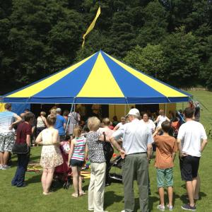 One of our Big Tops on the field for a School Fete